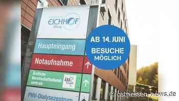 Gute Nachrichten: Krankenhaus Eichhof öffnet wieder für Besucher ab Montag - Osthessen News