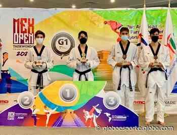 Flávio Marques, de Ferraz de Vasconcelos, conquista a prata no Open do México de taekwondo - globoesporte.com