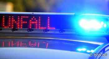 Ein Verletzter nach Unfall auf der A5 bei Renchen - BNN - Badische Neueste Nachrichten