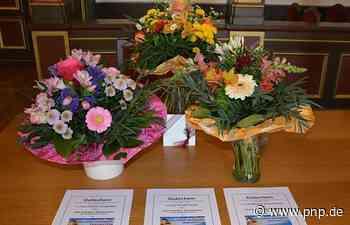 """Blumen und Gutscheine für vier """"Schutzengel"""" - Traunstein - Passauer Neue Presse"""