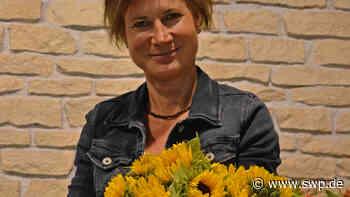 Vielen Dank für die Blumen: Sabine Kröper schließt ihren Laden in Crailsheim - SWP