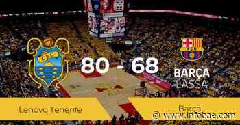 El Lenovo Tenerife se queda con la victoria frente al Barça por 80-68 - infobae