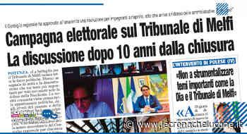 Campagna elettorale sul Tribunale di Melfi La discussione dopo 10 anni dalla chiusura - Cronache TV