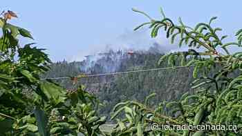 Une erreur humaine serait à l'origine du feu de Saint-Denis-De La Bouteillerie - ICI.Radio-Canada.ca
