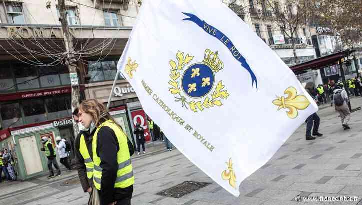 """""""Montjoie, Saint-Denis"""" : un slogan derrière lequel se cache la """"nébuleuse royaliste"""" - France Inter"""
