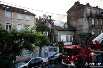 EN IMAGE. Seine-Saint-Denis. Un pavillon détruit dans un incendie à La Courneuve - actu.fr
