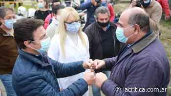 El Concepción, la vacunación aumentó el 1.000% de febrero a hoy, según el intendente Sánchez - La Crítica