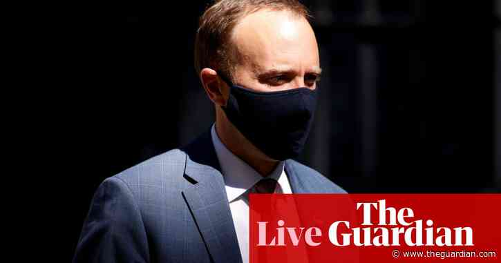 UK Covid live news: fresh accusations Hancock neglected care homes as he faces MPs questions