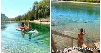 You Can Actually Go Swimming In This Crystal-Clear Quebec River This Summer (PHOTOS) - MTL Blog