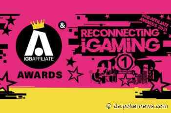 PokerNews bei den iGB Affiliate Awards 2021 nominiert