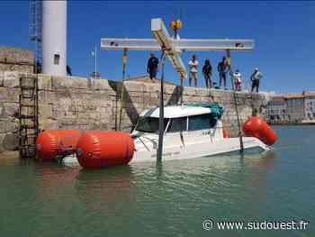 Île de Ré : un navire à moteur fait naufrage dans le pertuis breton - Sud Ouest