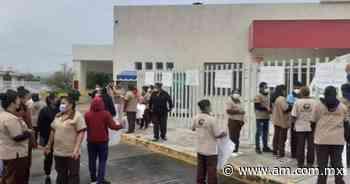 Estalla paro de labores de intendentes en Hospital de Ixmiquilpan - Periódico AM