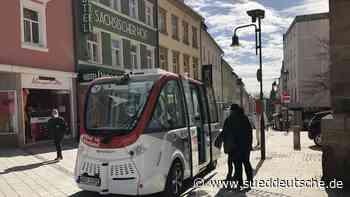 Autonome Busse in Oberfranken - Süddeutsche Zeitung