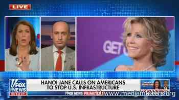 Fox News Primetime hosts white nationalist Stephen Miller to accuse Jane Fonda of treason - Media Matters for America