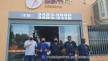 PARCERIA Bem Fit disponibiliza a academia para os GCMs de Rio das Pedras 09/06/2021 - Portal da Cidade