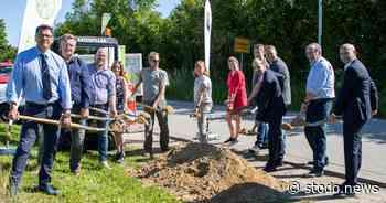 Spatenstich für Glasfaserausbau im Kernort von Stockelsdorf - Stodo News