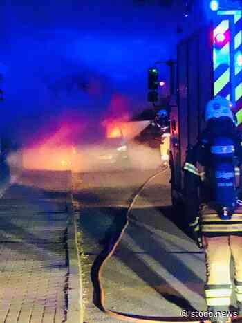 Fahrzeugbrand in Stockelsdorf - Stodo News