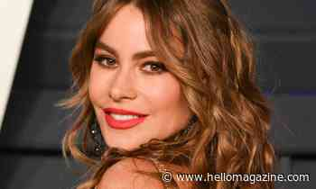 Sofia Vergara causes a stir in strapless dress with unexpected detail - HELLO!