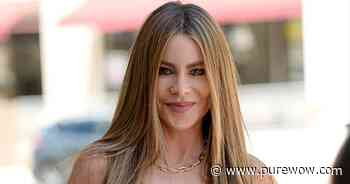 Sofia Vergara Stuns in a Turquoise Dress While Giving Fans a Glimpse at Her Gorgeous Pool - PureWow