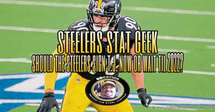 Podcast: Should the Steelers do a T.J. Watt mega-deal in 2021 or wait until 2022?