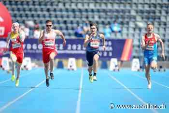 Behindertensport: Erfolg an der EM – Philipp Handler sprintet stark für sein Ticket nach Tokio - Zürcher Unterländer
