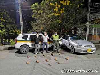 En el Peaje El Placer en Tangua, en guardabarros llevaban 12 kilos de coca - Extra Pasto