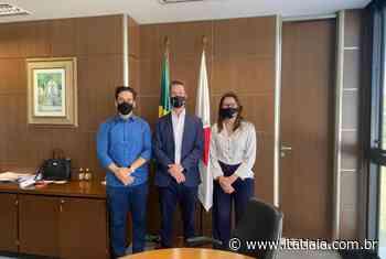 Presidente da Itatiaia é recebido pela chefe de comunicação do Governo de Minas Gerais - Rádio Itatiaia