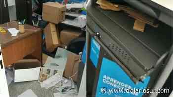 Robo y vandalismo en una escuela de Temperley: se llevaron las netbooks de los alumnos - El Diario Sur