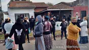 Importante despliegue policial en Temperley: desalojaron una casa usurpada - El Diario Sur