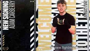 Adam Carberry signs with MTK Global - FIGHTMAG