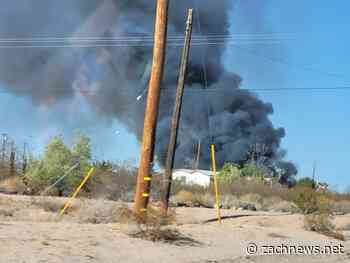 Breaking News: Goffs, CA: Goff's General Store and another structure is on fire. - ZachNews