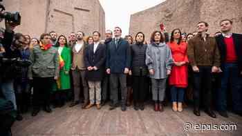 Casado, Arrimadas y Abascal no estarán en la tribuna de Colón - EL PAÍS