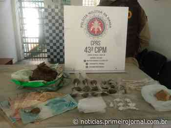 Três mulheres são presas por tráfico de drogas em Itamaraju - - PrimeiroJornal