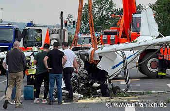 Gelnhausen/Hessen: Flugzeugabsturz an der Landesgrenze zu Bayern - Mann (67) aus Alzenau unter den Todesopfern - inFranken.de