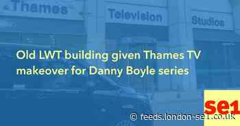 Old LWT building given Thames TV makeover for Danny Boyle series