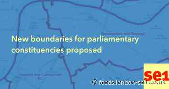 New boundaries for parliamentary constituencies proposed