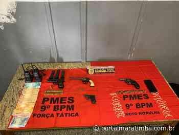 Polícia Civil: Operação conjunta prende cinco suspeitos em Cachoeiro de Itapemirim - Portal Maratimba