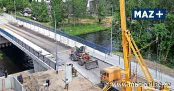 Teltow und Kleinmachnow: Rammrathbrücke könnte Ende Juni eröffnet werden - Märkische Allgemeine Zeitung