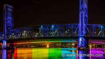 State Reverses Itself, Will Allow Rainbow Lighting on North Florida Bridge