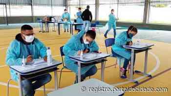 Iguape inicia testagem rápida contra Covid-19 em profissionais da educação - Adilson Cabral