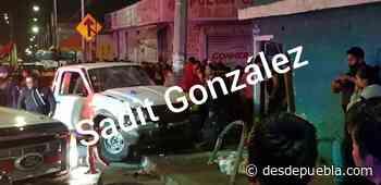 Ebrio sujeto atropella a 4 personas en Santa Anita - desdepuebla.com - DesdePuebla