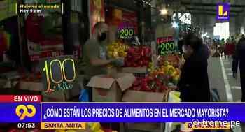 Santa Anita: precio de alimentos en mercado mayorista se mantienen - Diario Trome