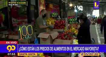 Elecciones 2021: precio de alimentos en mercado mayorista de Santa Anita se mantienen - Diario Perú21