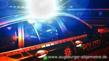 Lkw-Fahrer demoliert Verkehrsschilder am Kreisel beim Lohwald - Augsburger Allgemeine