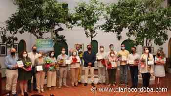 La Subbética entrega los premios del concurso de patios, rincones y balcones - Diario Córdoba