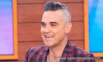 Robbie Williams' shirtless workout video with daughter Coco has fans in disbelief - HELLO!