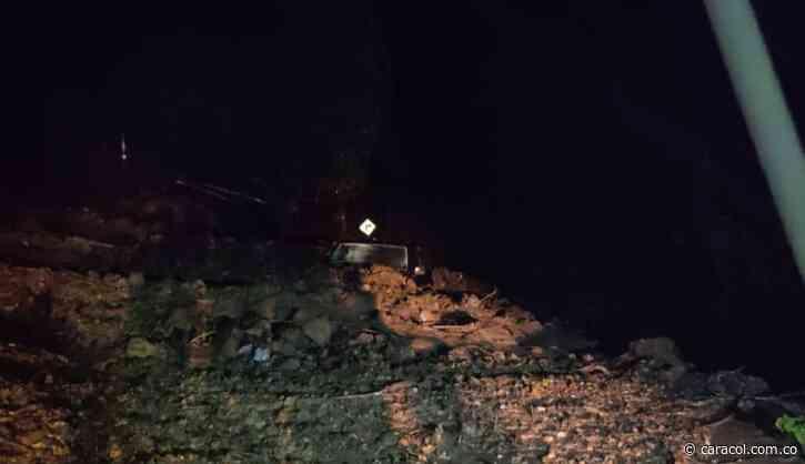 Inundación en Viterbo por las lluvias de este lunes - Caracol Radio