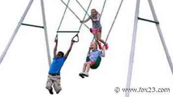 Leisure Time Products recalls more than 9000 swing sets - KOKI FOX 23
