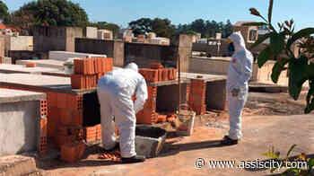 Em 7 dias Cemitério de Assis já fez 17 sepultamentos por COVID - Assiscity