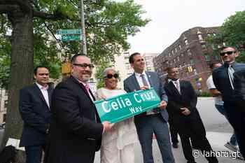 Nombran calle de Nueva York en honor a Celia Cruz - La Hora